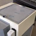 Griglia con filtro in poliestere per espulsione aria