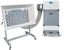 POCKET - Stone dust extractor with pocket filters - Centroventilazione Srl