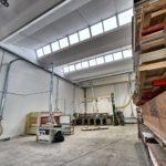 Impianto aspirazione segatura e polveri di legno